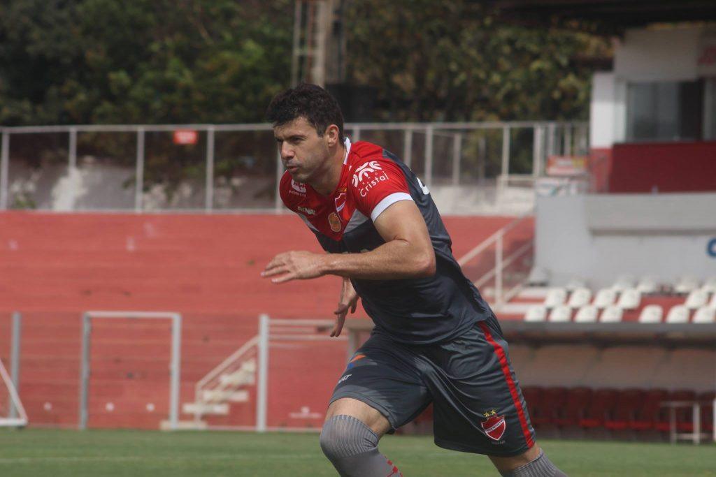 Depois de dois dias de folga, elenco do Vila Nova volta aos treinamentos