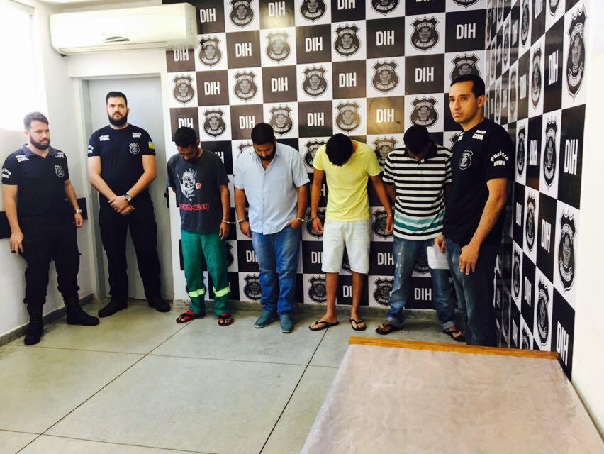 Polícia Civil cumpre mandados contra quatro autores de homicídios na capital
