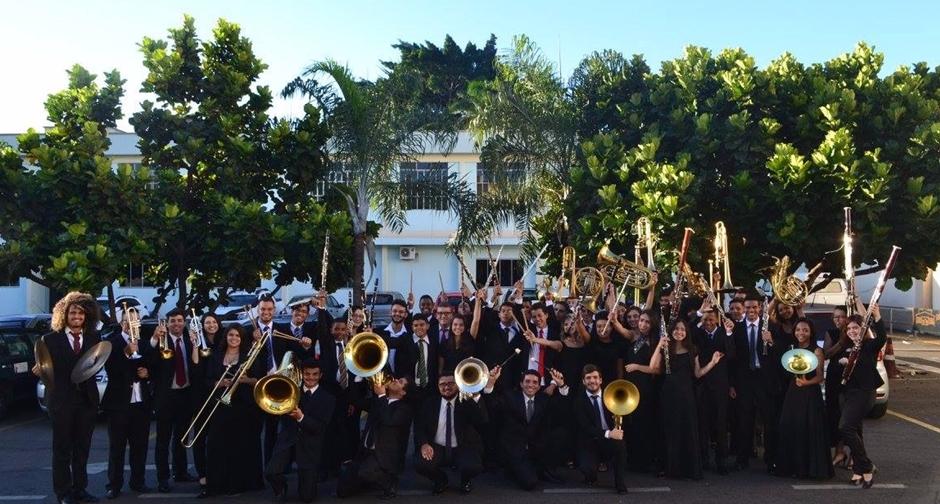 Banda Juvenil de Goiânia se apresenta na Praça Cívica, nesse fim de semana