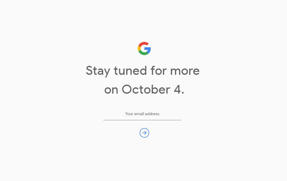 Google vai anunciar o Pixel 2 e o Pixel 2 XL em 4 de outubro