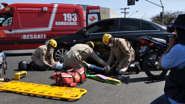 Goiás tem média de 91 acidentes de trânsito por dia nos três primeiros dias de Carnaval