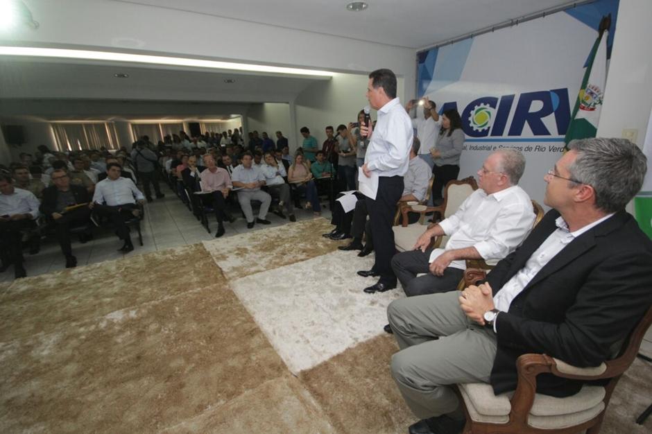 Governo estadual garante mais atenção à área da segurança pública para Rio Verde