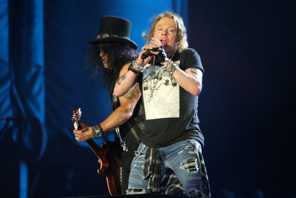 Guns N' Roses se redime com Rock in Rio depois de seis anos