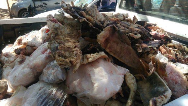 MPGO apreende mais de 1,5 tonelada de produtos animais clandestinos em Santo Antônio do Descoberto