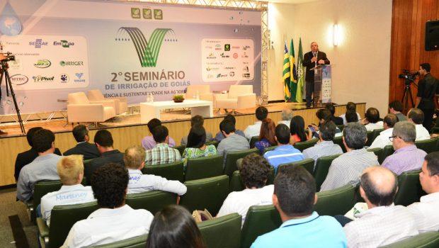 Goiás tem capacidade para irrigar 5 milhões de hectares, diz presidente da Faeg