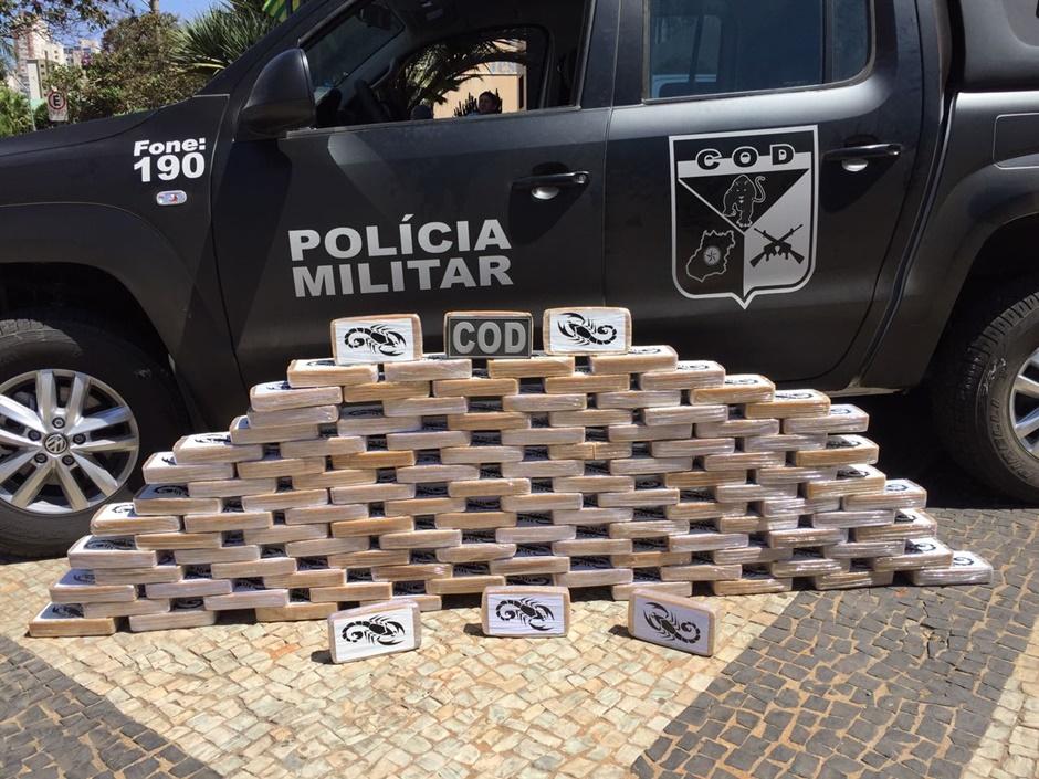 COD apreende mais de 100 quilos de pasta base de cocaína no Parque Amazônia, em Goiânia