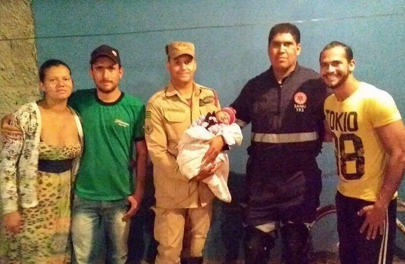 Mais um bebê é salvo após auxílio dos bombeiros por telefone, em Formosa