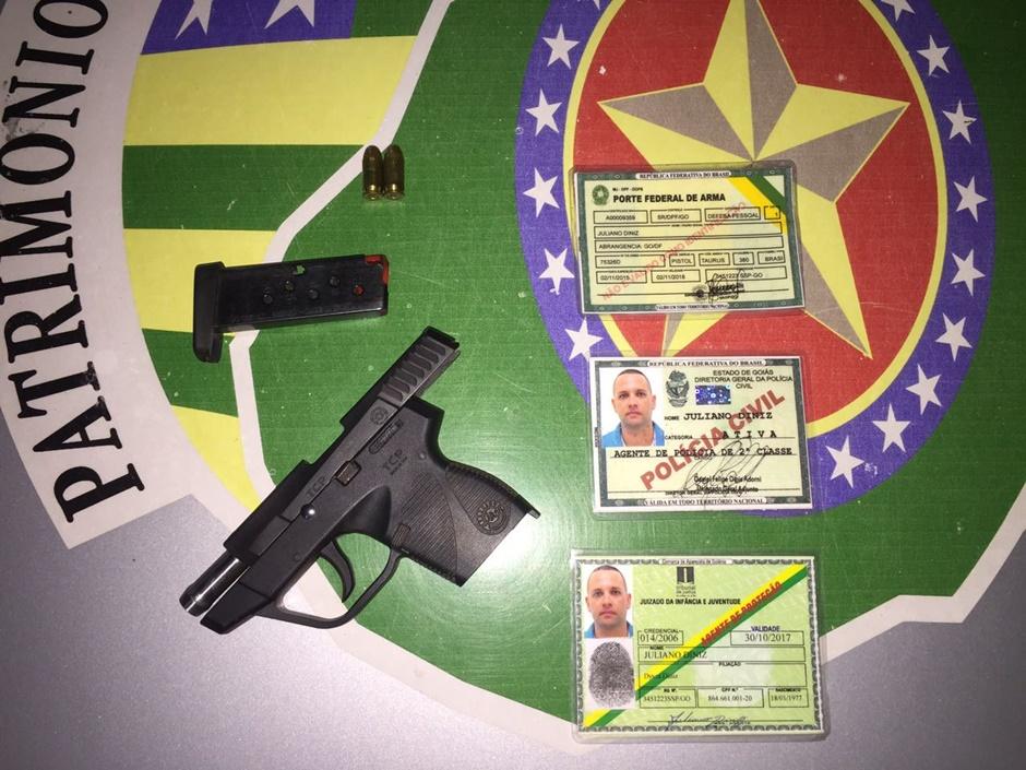 Falso policial civil é preso após disparar várias vezes em um bar no Jardim Atlântico, em Goiânia