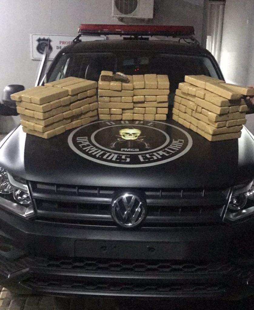Bope prende advogado flagrado com 100 quilos de maconha em Goiânia
