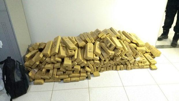 Quatro homens são presos com 225 quilos de drogas em Monte Alegre de Goiás