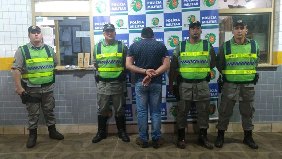 Taxista é preso por tráfico de drogas em Goiânia