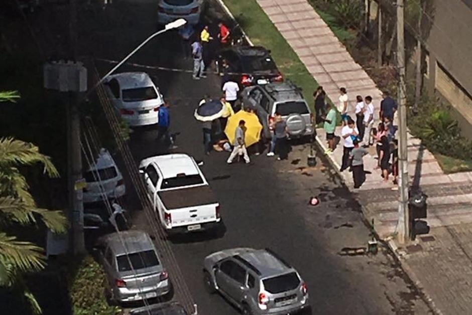 Mulher é baleada na Avenida T-62, no Setor Bueno