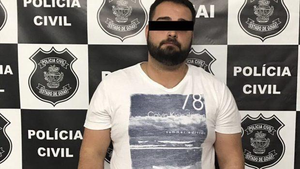 Jovem é preso suspeito de torturar o próprio pai em Goiânia