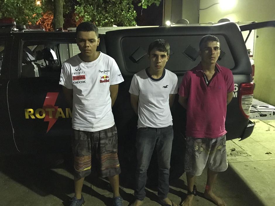 Rotam prende trio por desmanche de veículos roubados em Goiânia
