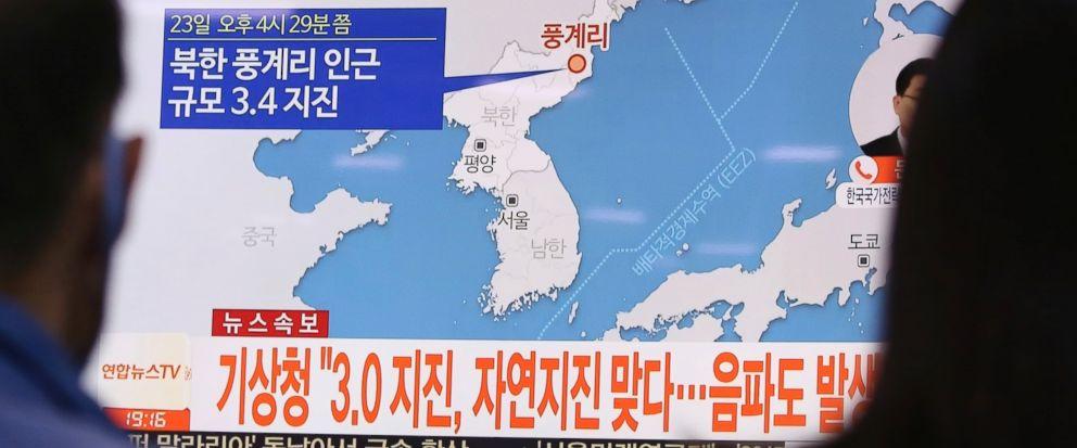 Terremoto é registrado na Coreia do Norte e gera alerta
