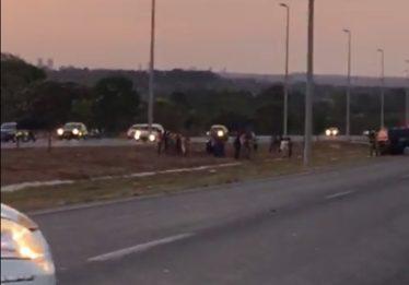 Acidente deixa uma pessoa morta na GO-020, na saída de Goiânia para Bela Vista