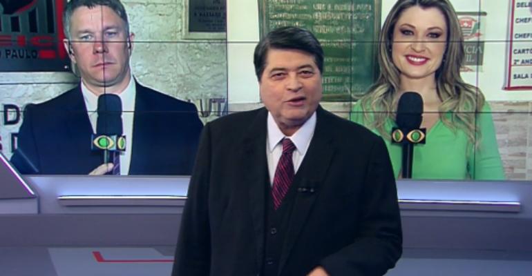 Dor de barriga faz Datena abandonar a apresentação do 'Brasil Urgente'
