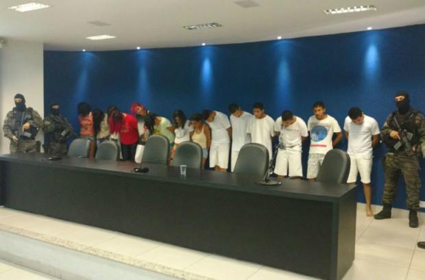 Suspeitos de homicídio são presos na região do bairro São Francisco, em Goiânia