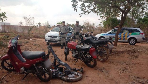 Polícia encontra desmanche de veículos no Jardim Eldorado, em Aparecida de Goiânia
