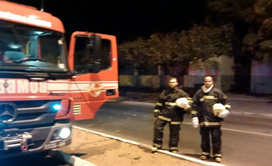 Prédio da prefeitura de São Miguel do Araguaia pega fogo