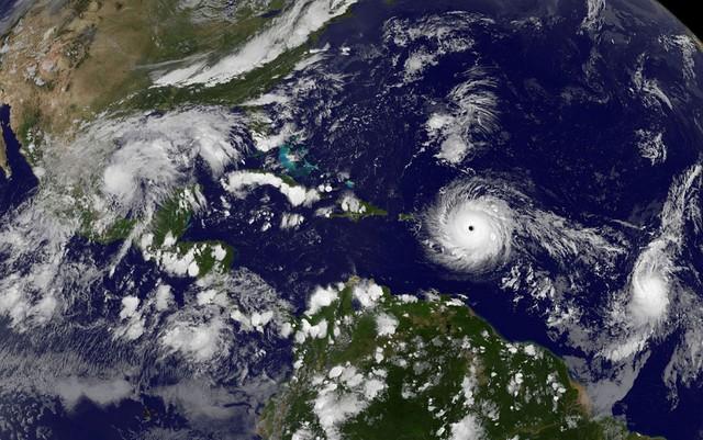 Furacão Irma segue em direção a países do Caribe