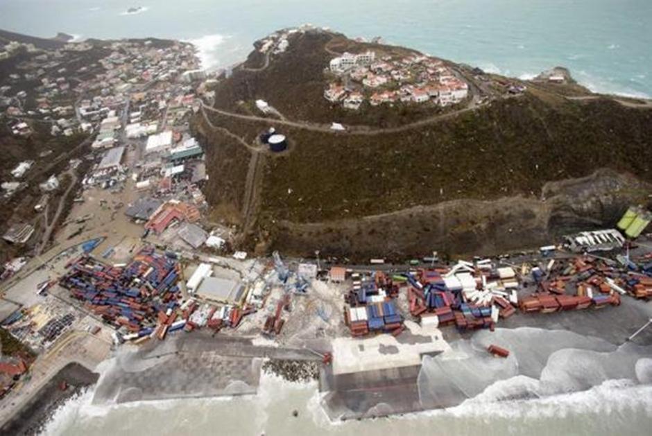 Furacão Irma deixa pelo menos 8 mortos na parte francesa de San Martín