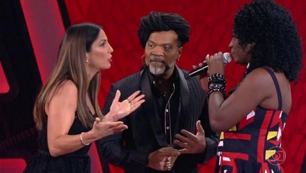 Ivete Sangalo se emociona ao encontrar ex-colega de juventude no 'The Voice'