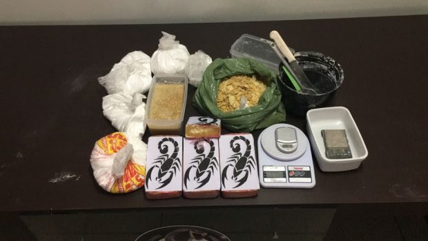 Polícia fecha laboratório de cocaína no Setor Grajaú, em Goiânia