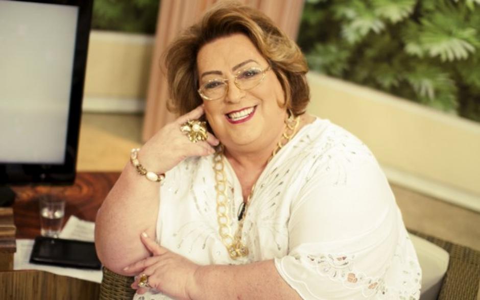 Apresentadora Mamma Bruschetta é internada em São Paulo