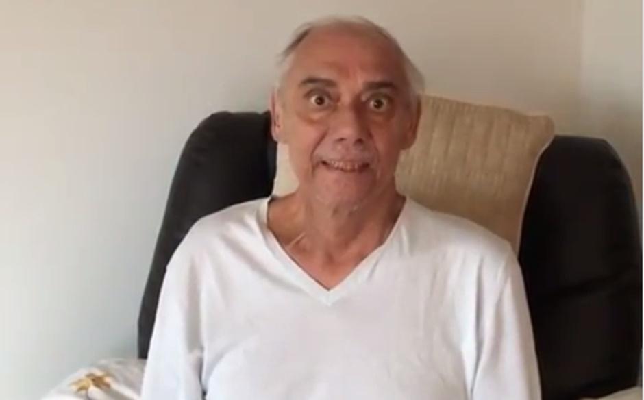 Vídeo mostra Marcelo Rezende magro e abatido pelo câncer