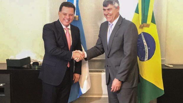 """Marconi: """"Estamos no Centro do Brasil, e com uma oportunidade histórica de aprimorar nossas relações comerciais bilaterais"""""""