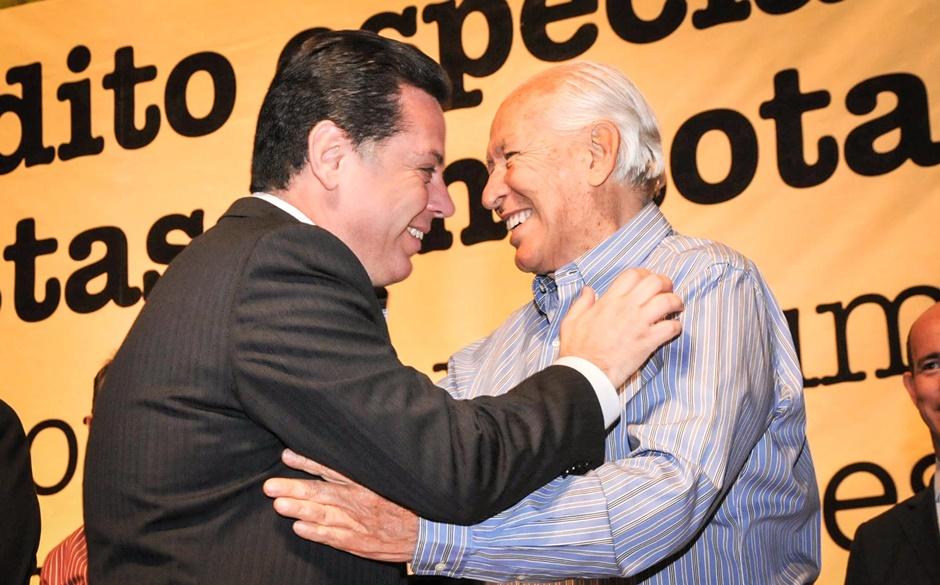 """Marconi lamenta a morte do ex-prefeito de Goiânia, Nion   Albernaz: """"O melhor prefeito da Capital"""", afirma"""