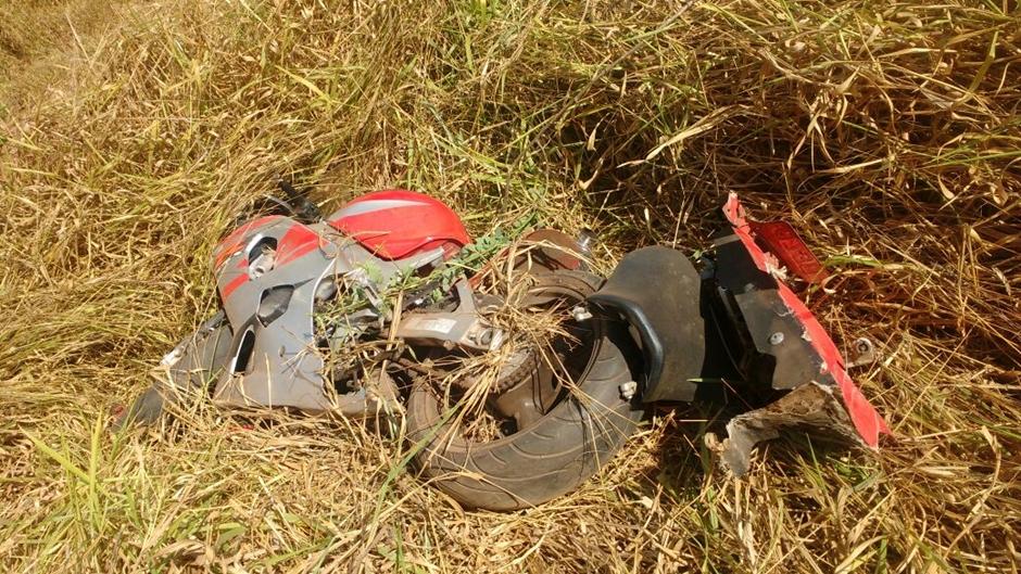 Homem morre após perder controle de moto e sofrer acidente na BR 060