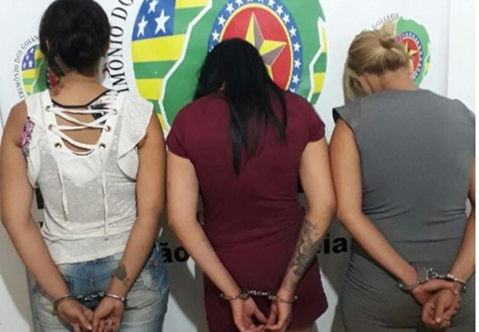 Mulheres são presas por tráfico de drogas em Edéia