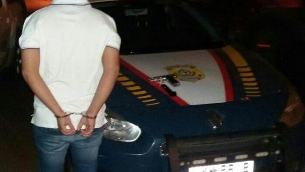 Estudante de Veterinária é preso por porte ilegal de arma e embriaguez ao volante