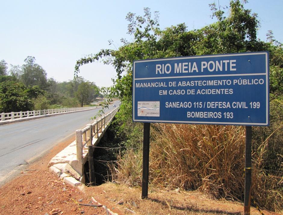 Após portaria, vazão do Meia Ponte é 50% menor para indústria e produtores rurais