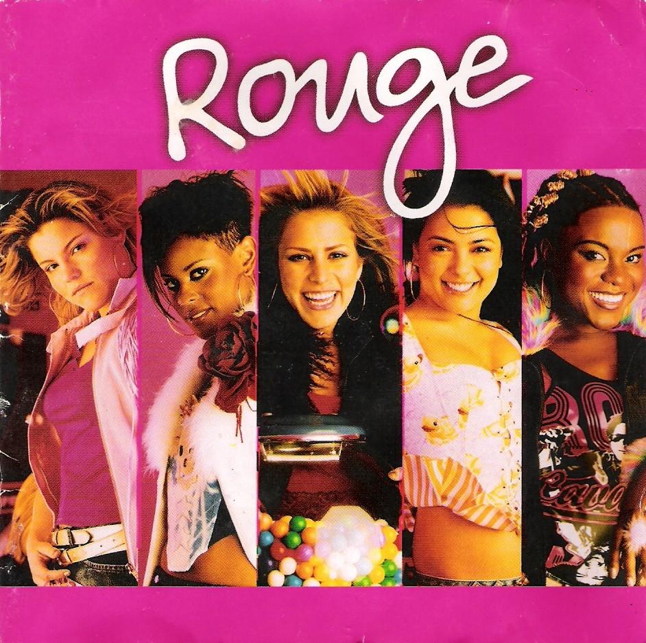 Grupo Rouge, com as cinco integrantes, fará show especial no Rio de Janeiro