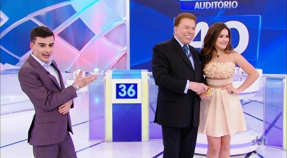 SBT é processado em R$ 10 milhões por cenas com Silvio Santos, Maisa e Dudu Camargo