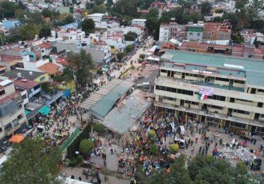 Terremoto mata mais de 20 crianças em escola do México