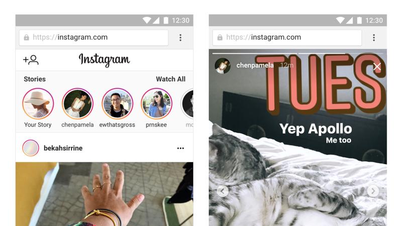 Instagram libera acesso ao Stories por navegadores