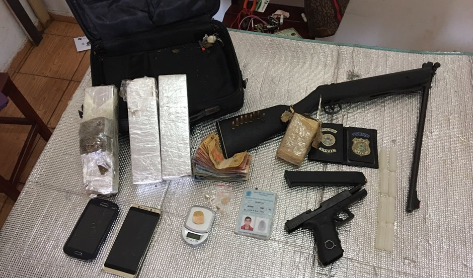 Traficante que se passava por policial é preso em Goiânia