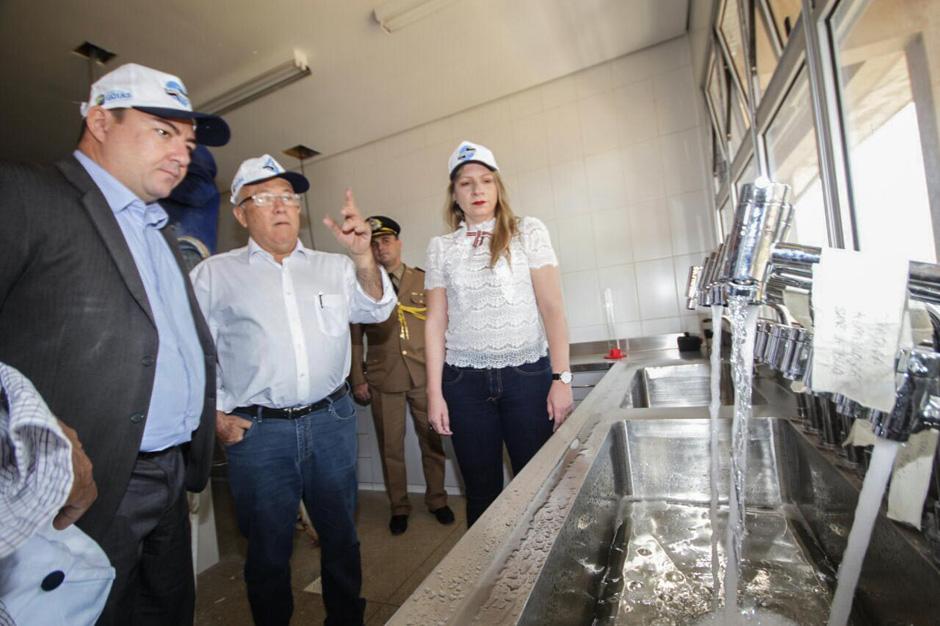 José Vitti acompanha de perto crise hídrica e vai à Estação de Tratamento de Água Mauro Borges