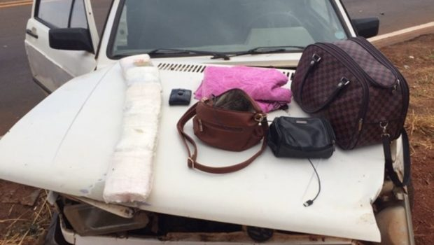 Casal é preso com cinco quilos de cocaína, em Iporá