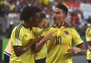 Colômbia empata com o Peru e conquista vaga na Copa do Mundo