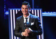 Cristiano Ronaldo é eleito o melhor jogador do mundo pela quinta vez