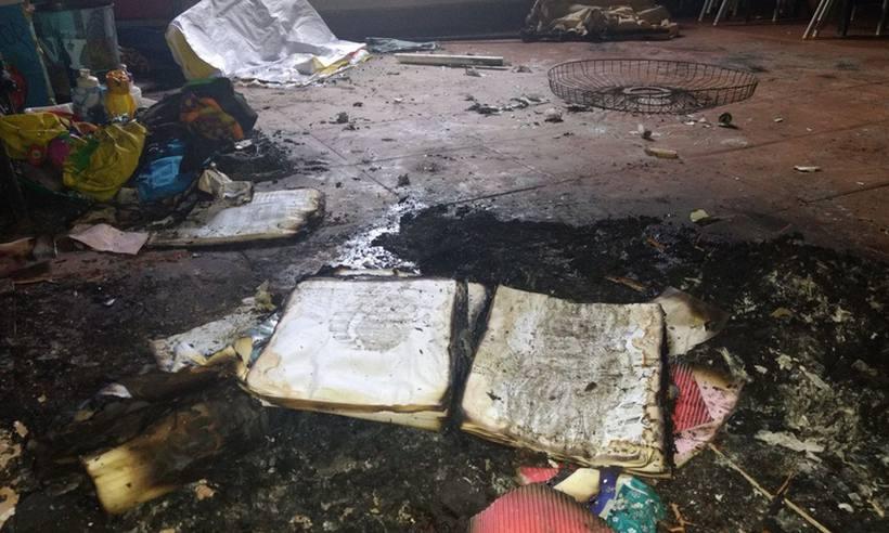 Creche incendiada em Janaúba será reinaugurada em 80 dias