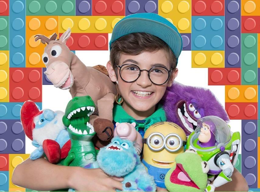 Teatro Goiânia recebe peça infantil A Loja Mágica de Brinquedos