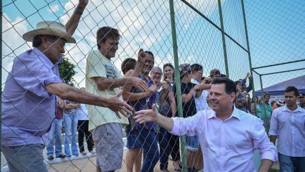 Marconi investe R$ 3 milhões em obras para Palminópolis