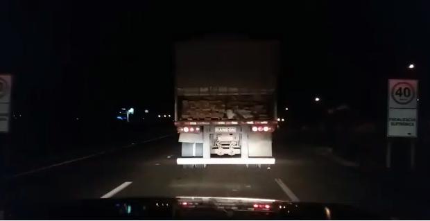 Caminhoneiro é preso por transporte ilegal de madeira em Jataí