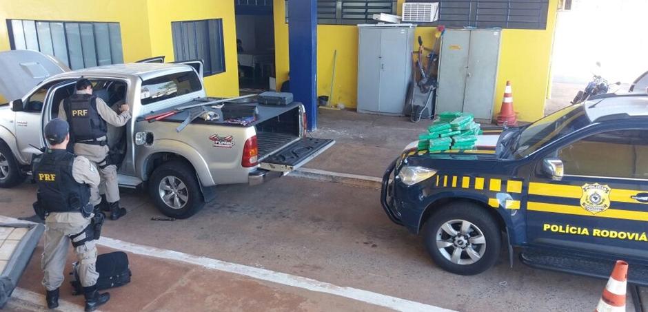 PRF faz apreensão de cocaína que totaliza R$ 1 milhão na BR-060